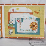 Детский фотоальбом: карманы с карточками для пожеланий