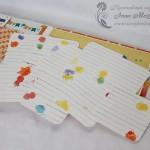 Детский фотоальбом: карточки для пожеланий