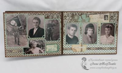 Фотоальбом для бабушки - братья