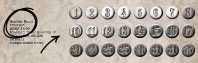 Тим Хольц - брадс с цифрами