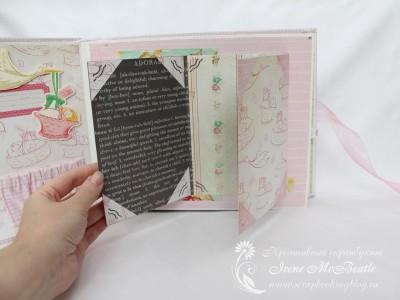 Альбом для девочки: раскладушка для фото