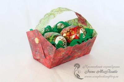 Коробочка для пасхальных яиц