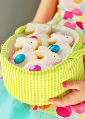 Печенье в виде зайцев