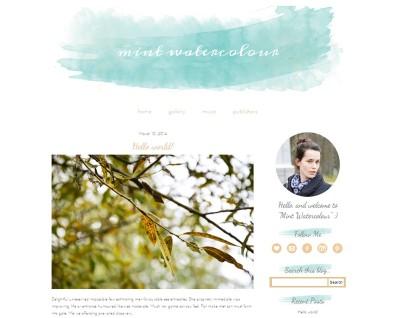 Акварель в веб-дизайне