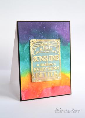 Яркий красочный фон для открытки
