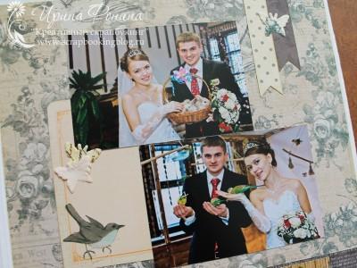 Свадебный фотоальбом: фото с птичками