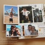 Альбом о путешествиях - книжечки и раскладушки