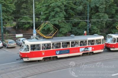 Поездка в Чехию: трамвай