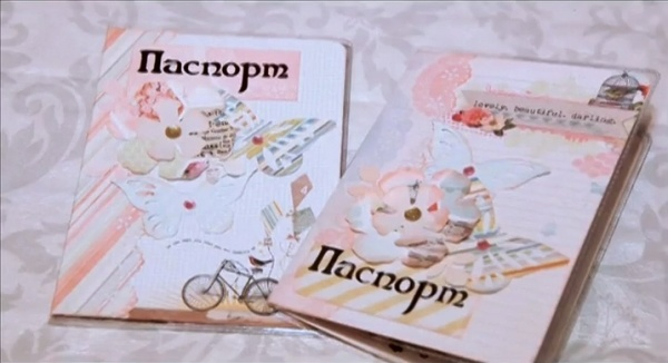 Обложки на паспорт для девочек