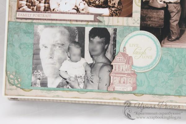 Альбом на серебряную свадьбу - памятные снимки