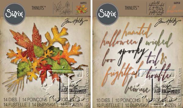 Sizzix fall foliage