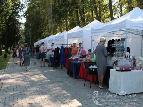 Ярмарка Арт-Квартал в Воронцовском парке