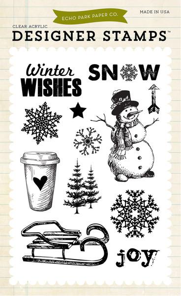 Набор штампов Joyful winter
