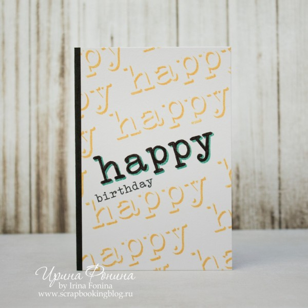Happy Birthday CAS Card