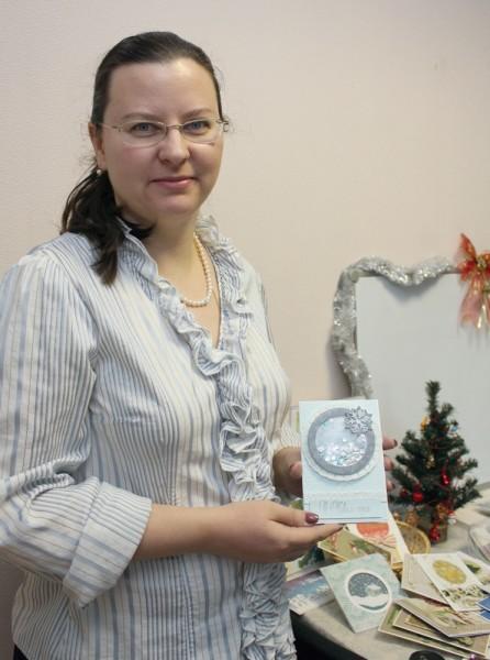 Юлия и ее открытка для Старость в радость