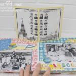 Скрапбукинг альбом школьные годы - поп-ап элемент