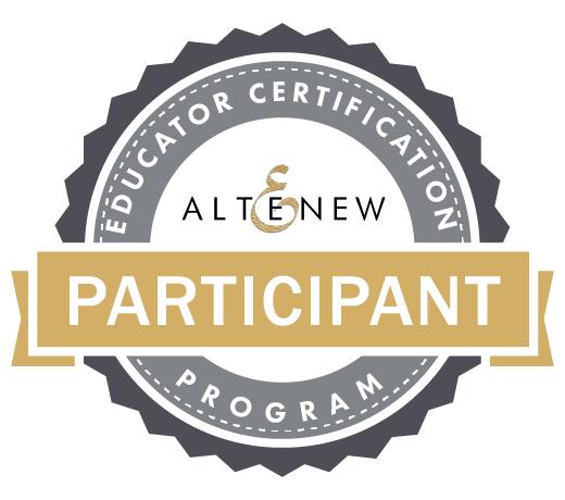 altenew educator cerftification program participant