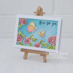 Altenew Bamboo Rose Card