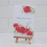 Altenew Vintage Roses Card