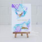 Altenew - Trigonometry Card - 1