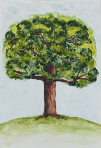 Altenew - акварельные краски - рисунок