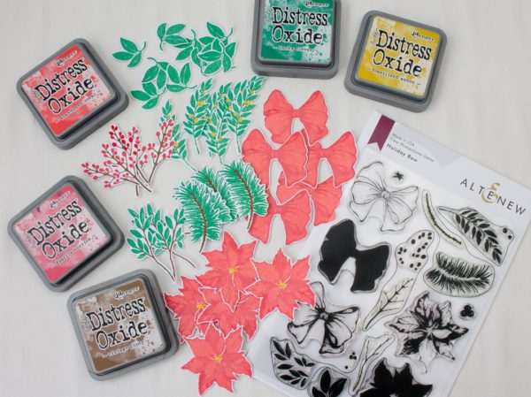 Altenew - Holiday Bow - Stamping
