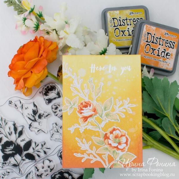 Card - Altenew - Dainty Bouquet - 01
