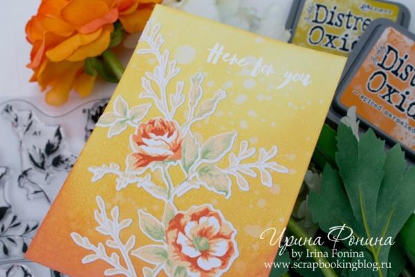 Card - Altenew - Dainty Bouquet - 02