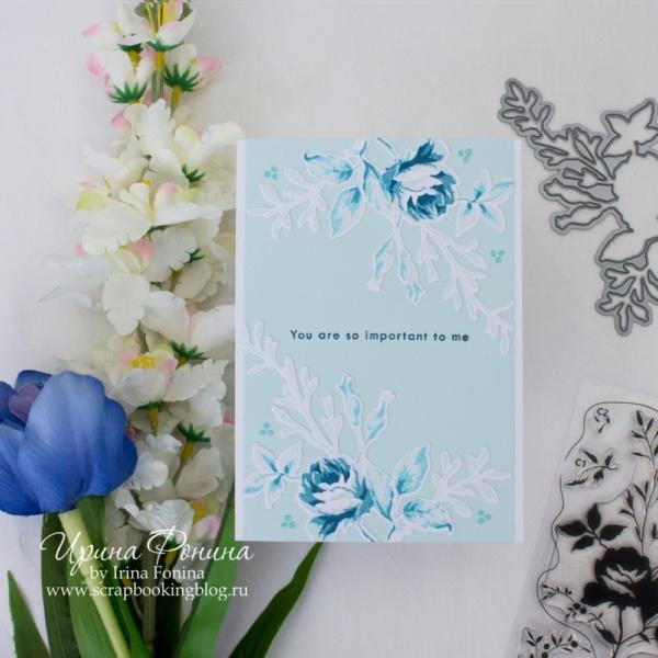 Card - Altenew - Dainty Bouquet - 05