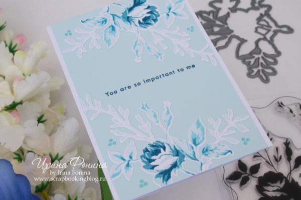 Card - Altenew - Dainty Bouquet - 06