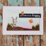 Card - Lawn Fawn - So Happy - 01