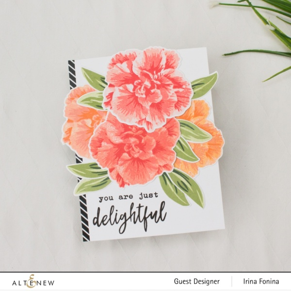 Altenew Build-A-Flower: Camellia Japonica Release Blog Hop - 01