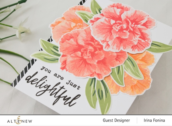 Altenew Build-A-Flower: Camellia Japonica Release Blog Hop - 02
