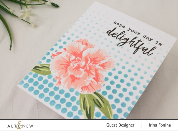 Altenew Build-A-Flower: Camellia Japonica Release Blog Hop - 04