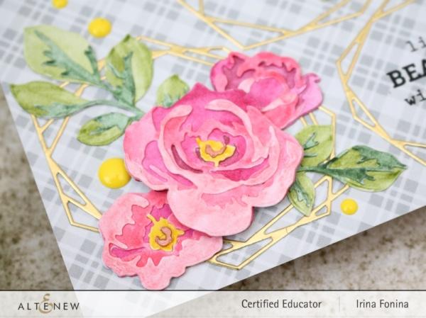 Altenew Blog Hop - Life is Beautiful Card - 3
