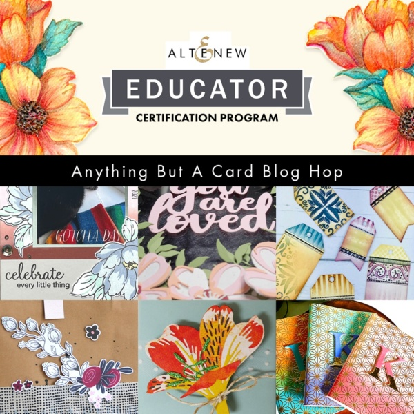 """Altenew """"Anything But A Card"""" Blog Hop - 2"""