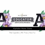 Altenew Alphabet Name Game Blog Hop