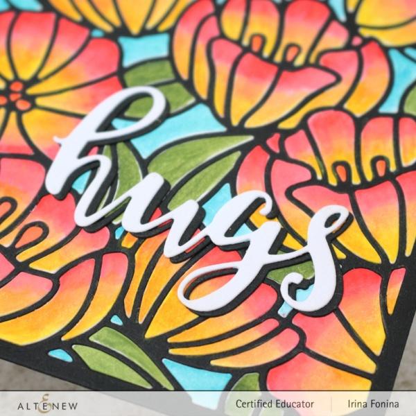 Altenew Blog Hop - Dainty Blooms Cover Die - 03